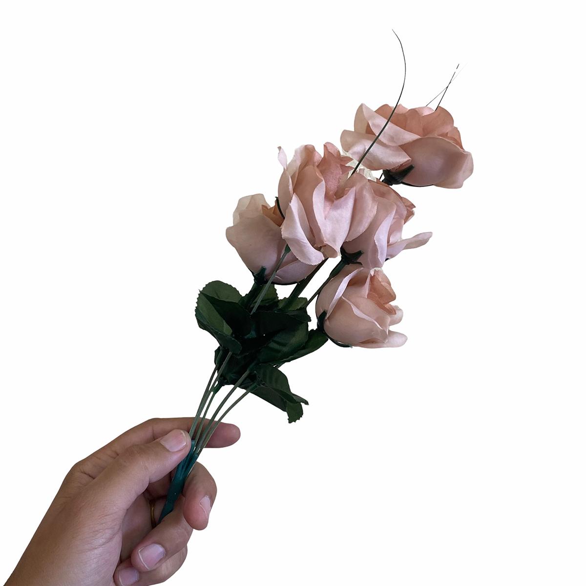 Flor Artificial Nude Unidade