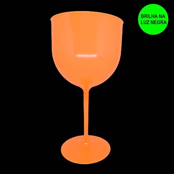 Taça Gin 600 ml Laranja Neon