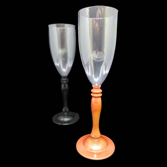 Taça Champagne 210 ml Colonial Rose Gold