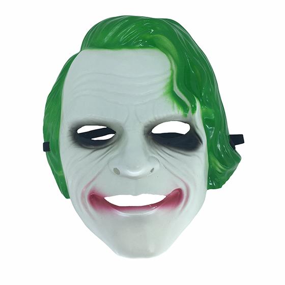 Máscara Coringa de Plástico Cosplay Halloween Festa
