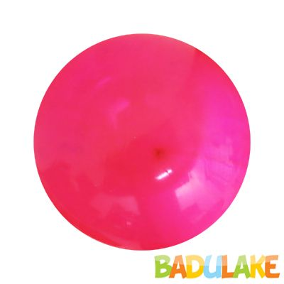 Bola Plástica Vinil Pink Transparente