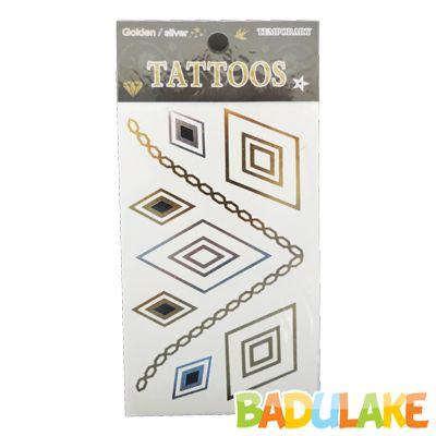 Tatuagem Metalizada