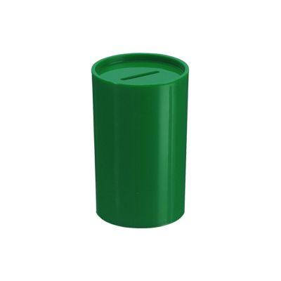 Cofrinho de Plástico Verde Escuro