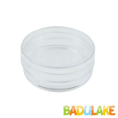 Latinha de Plástico para Lembrancinha Transparente - 10 unidades