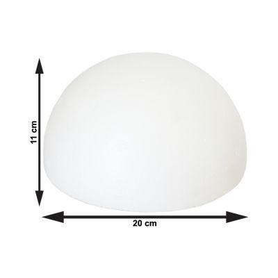 Meia Bola de Isopor 200 mm