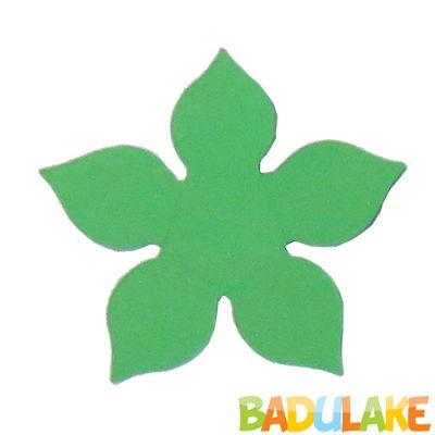 Forminha Flor para Doce Modelo 1 Verde Bandeira - 50 unidades