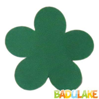 Forminha Flor para Doce Modelo 2 Verde Bandeira - 50 unidades