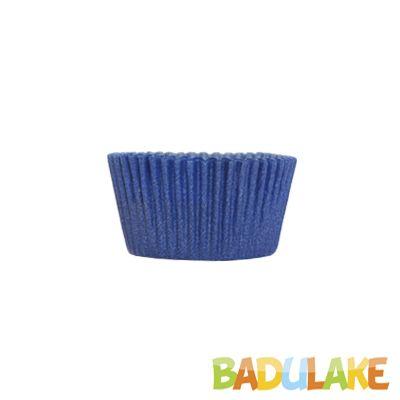 Forminha Cupcake Liso Azul - 45 unidades