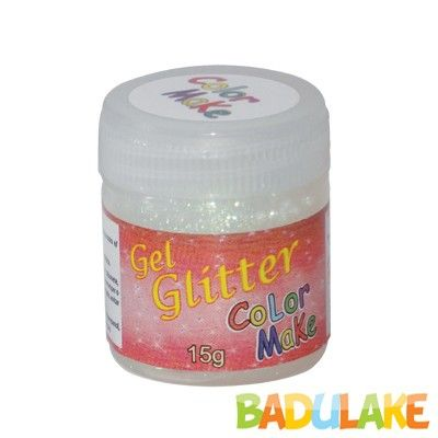 Gel Glitter 15 gramas Colormake Pérola