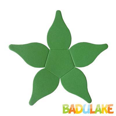 Forminha Flor para Doce Modelo 4 Verde Clara - 50 unidades