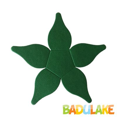 Forminha Flor para Doce Modelo 4 Verde Escura - 50 unidades