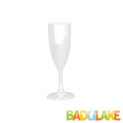 Taça Champagne 140 ml Branca - 5 unidades
