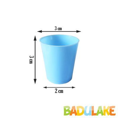 Mini Copinho para Brigadeiro Azul Bebê 10 ml - 50 unidades