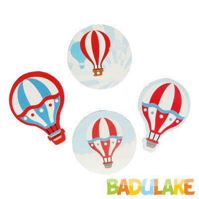 Apliques Balão - 12 unidades