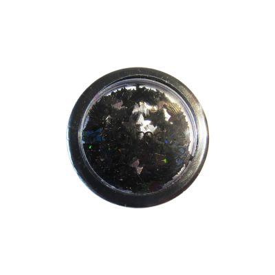 Glitter Borboleta 2 gramas Preto