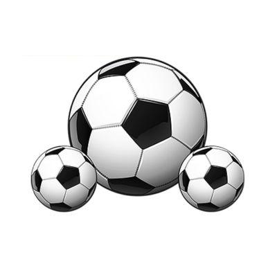 Kit Painel Bola de Futebol - 3 unidades
