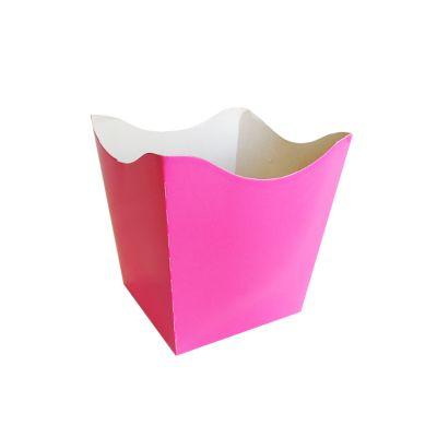 Cachepot Pequeno Rosa Neon - 10 unidades