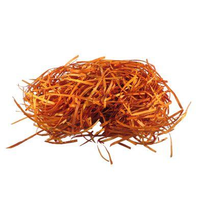 Palha Decorativa Laranja 20 gramas