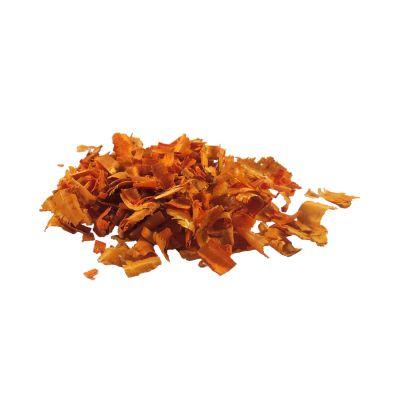 Serragem Decorativa Laranja 70 gramas