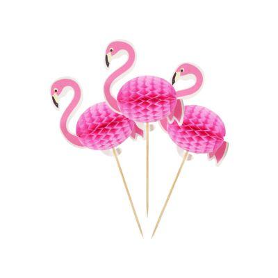 Palito Flamingo - 6 unidades