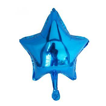 Balão Metalizado Estrela 18'' polegadas Azul