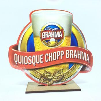 Enfeite de Mesa Mdf Quiosque Brahma- 6 unidades