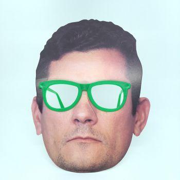 Óculos Máscara Sérgio Moro de Papel