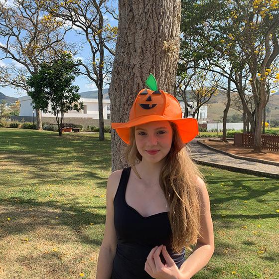 Chapéu Abóbora Halloween