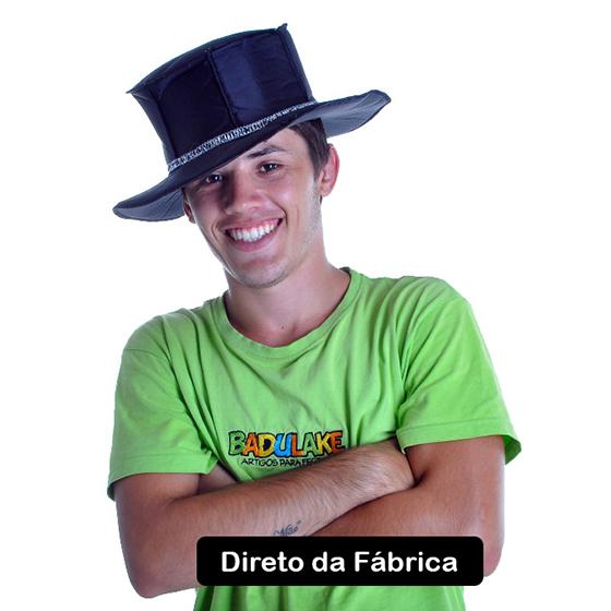 Chapéu Zorro Tecido