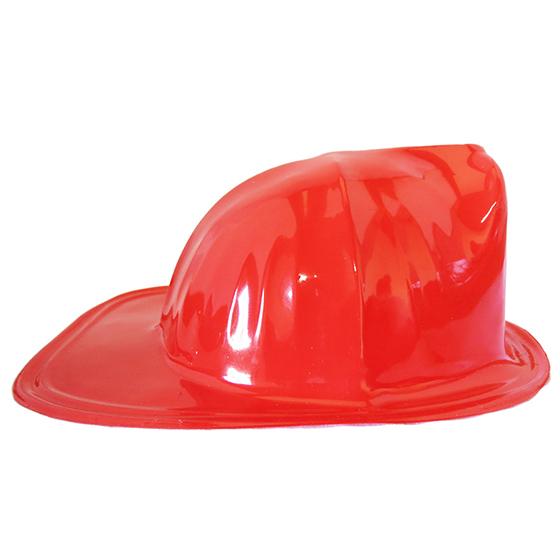 Chapéu Bombeiro Plástico Qualidade Superior