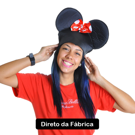 Chapéu Ratinha Tecido
