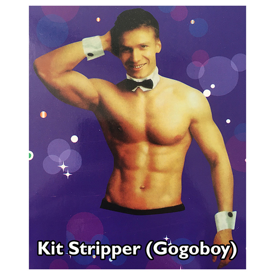 Kit Stripper Gogoboy para Fantasia