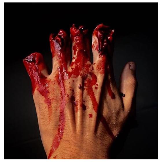 Sangue Teatral Artificial Comestível 15 ml