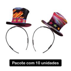 Tiara Cartolinha Sortidas - 10 unidades