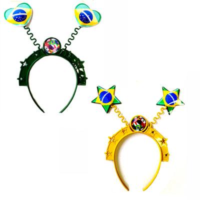 Tiara Espiral Brasil - 10 unidades