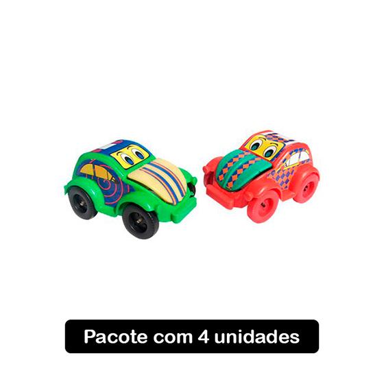 Fusca Bocão - 4 unidades