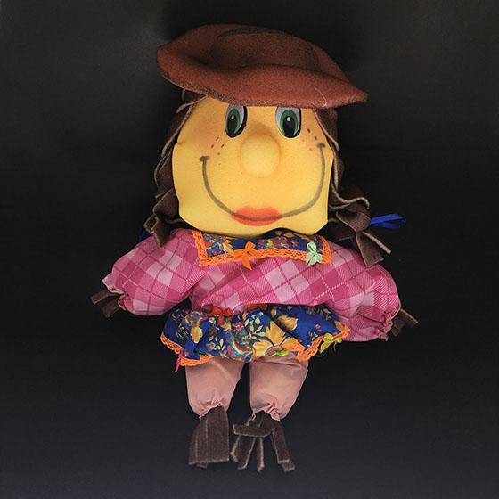 Boneca Decorativa de Espuma Menina