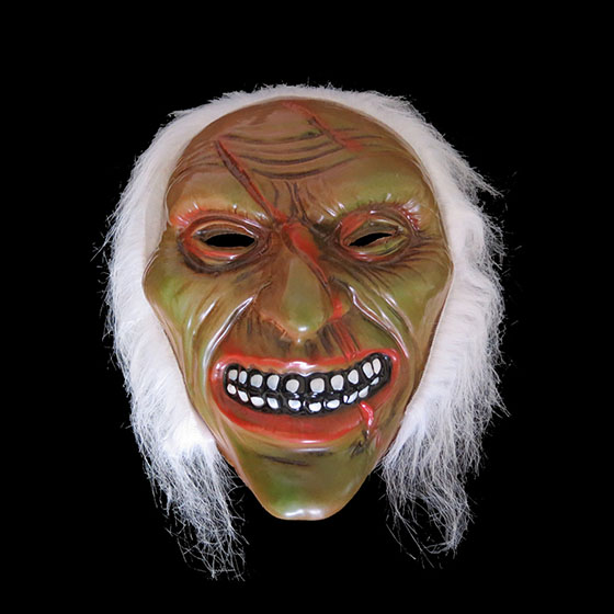 Máscara Monstro com Cabelo Modelo 6