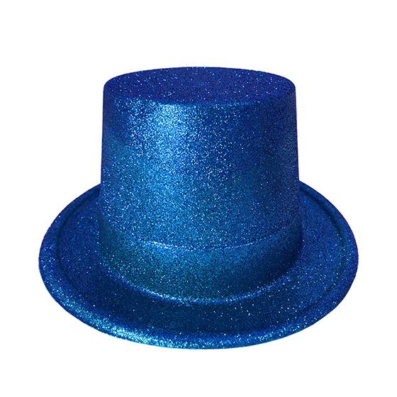 Cartola Glitter Azul