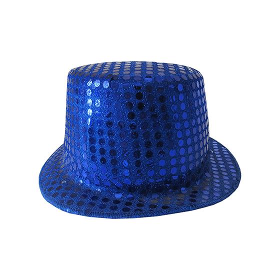 Cartola Paetês Azul