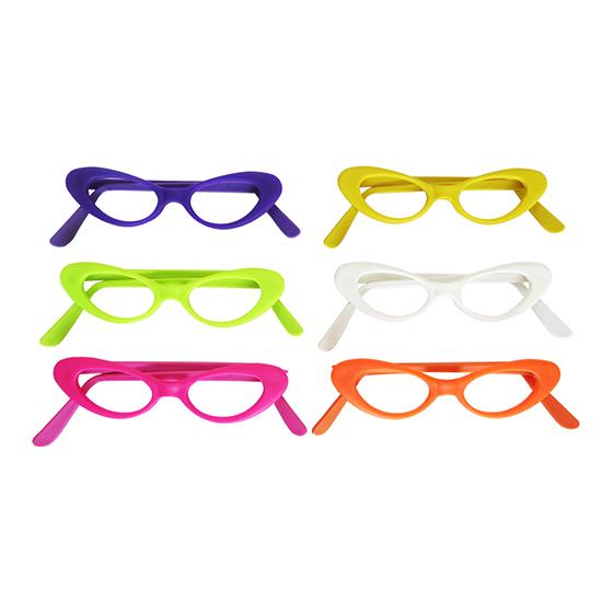Óculos Gatinho sem Lentes - 10 unidades