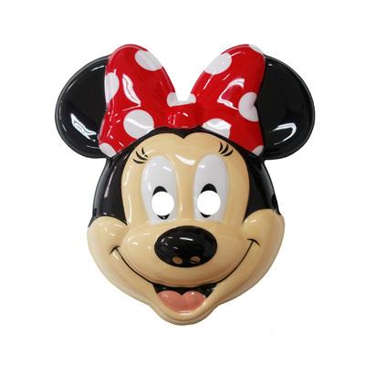 Máscara Rosto Minnie Vermelha
