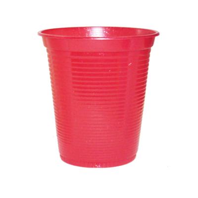 Copo Descartável 200ml Vermelho - 50 unidades