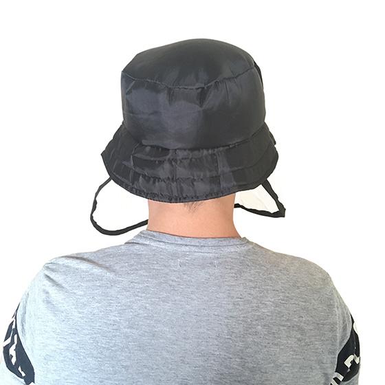Chapéu Bucket Adulto Com Proteção Plástica Facial Anti Gotículas