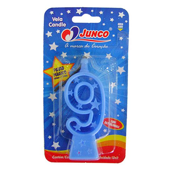 Vela Plástica 9 Azul