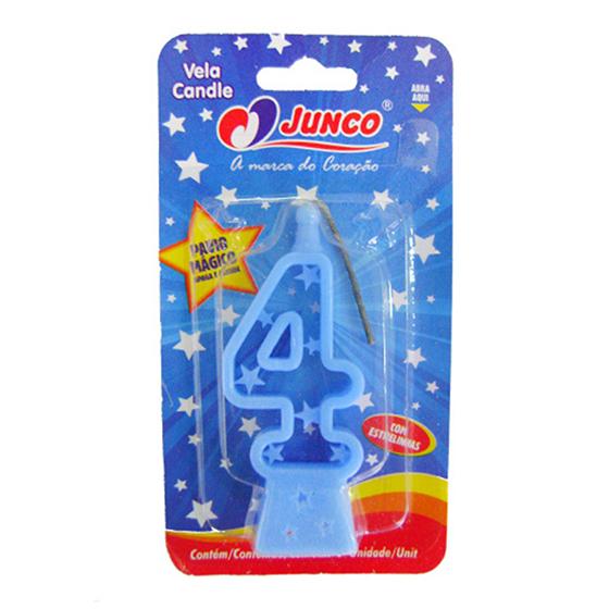 Vela Plástica 4 Azul