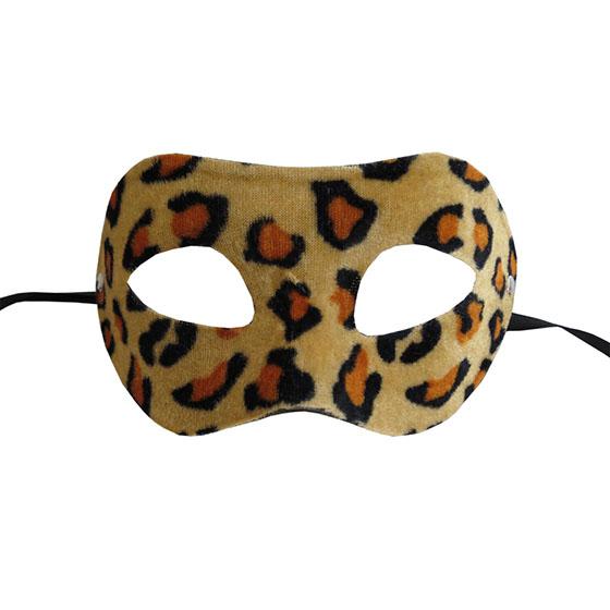 Máscara Veneza Felinas Luxo Onça