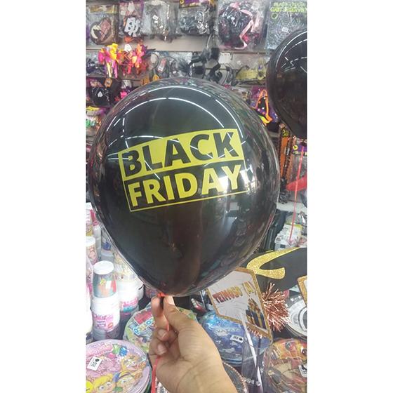 Balão Black Friday - 20 Unidades