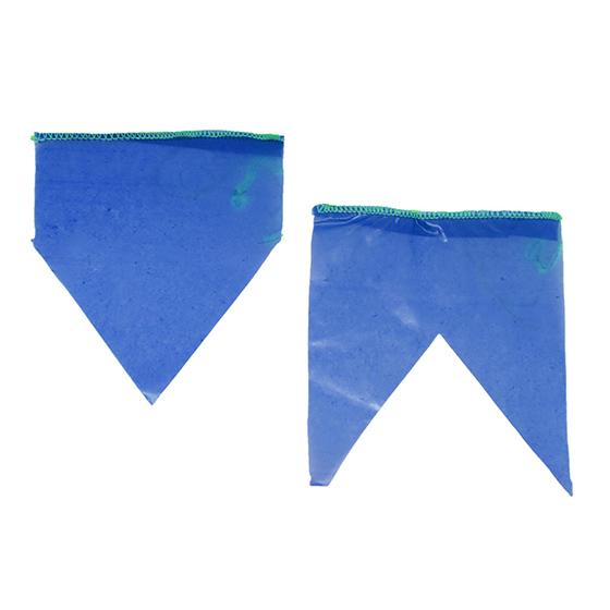 Bandeirinha de Festa Junina Plástico com 10 metros - Azul