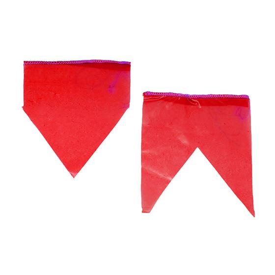 Bandeirinha de Festa Junina Plástico com 10 metros - Vermelha